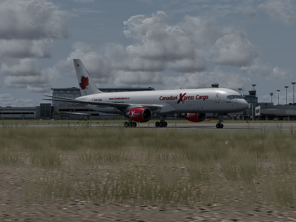 Canadian Xpress Livery for the QualityWings Ultimate 757
