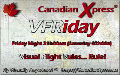 Canadian Xpress® VFRiday Banner